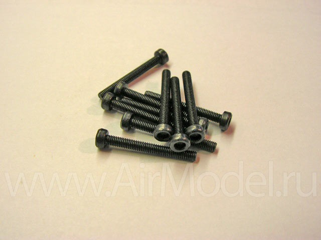 Болт М3 х 30 с головкой под 6-ти гранный ключ. Цена указана за 10 шт.